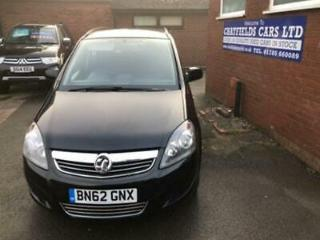VAUXHALL ZAFIRA 1.7 EXCLUSIV CDTI DIESEL 27K MILES,7 SEATER SEATS, S/HISTORY