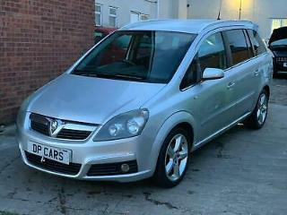 Vauxhall Zafira 1.8 SRi 2007 2 Owners, FSH, 12 Months Mot, Drives Lovely!