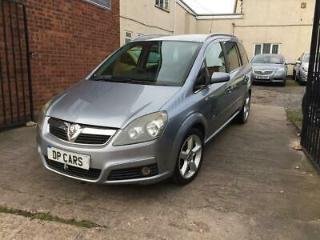 Vauxhall zafira 1.8 SRI XP 2006 12 Months Mot, Just Serviced, New Clutch!