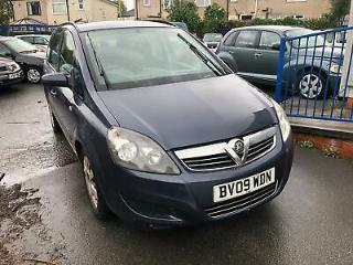 Vauxhall Zafira 1.9CDTi 120ps Life 7 SEATER 2009 09 REG MOT TIL MAY 2020