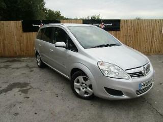 VAUXHALL ZAFIRA CDTi 120 Breeze Silver Manual Diesel, 2009