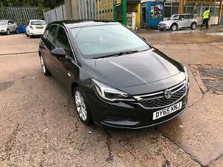 Vauxhall/Opel Astra 1.0i 105ps ecoFLEX s/s 2016MY Design