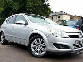Vauxhall/Opel Astra 1.6 16v 115ps 2008 Design LEATHERS FULL HISTORY MINT