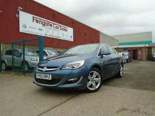 Vauxhall/Opel Astra 1.6i VVT 16v 115ps auto 2013 SRi ONLY 28K VERY LOW MILEAGE