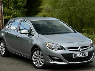 Vauxhall/Opel Astra 1.6i VVT 16v 115ps auto 2014MY Elite Grey