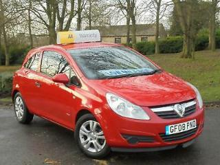 Vauxhall/Opel Corsa 1.0i 12v 2008 Breeze RED, 1.0, CHEAP TAX & INSURANCE