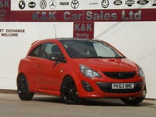 Vauxhall/Opel Corsa 1.2i 16v 85ps Limited Edition a/c 2013.5MY
