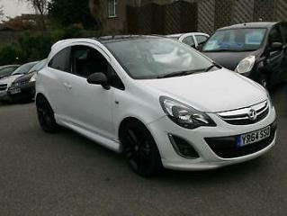 Vauxhall/Opel Corsa 1.2i 16v 85ps Limited Edition a/c 2014MY WHITE,52K