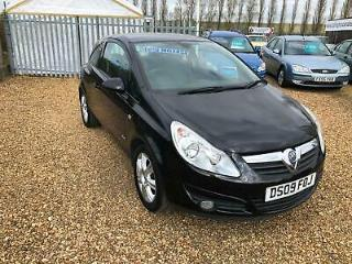 Vauxhall/Opel Corsa 1.2i 16v a/c 2009 Design LOW MILES 42,000 ONLY!