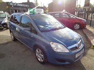 Vauxhall/Opel Zafira 1.6 16v 105ps 2008 Exclusiv 7 SEATS * NICE CONDITION