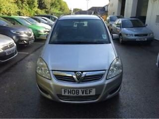 Vauxhall/Opel Zafira 1.6 2008 Exclusiv 1 PREVIOUS OWNER, FULL HISTORY