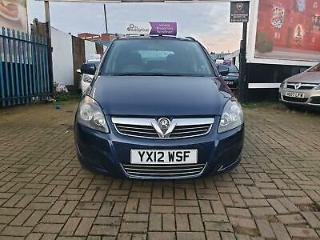 Vauxhall/Opel Zafira 1.6i 16v VVT 115ps 2012MY Exclusiv patrol/ Manual