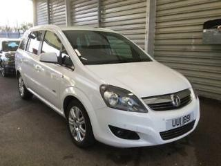 Vauxhall/Opel Zafira 1.7CDTi 16v ecoFLEX 110ps 2012.5MY Design NAV IN WHITE