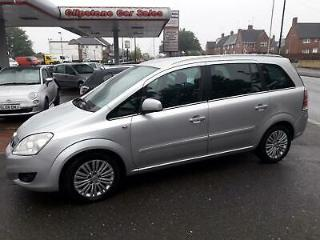 Vauxhall/Opel Zafira 1.7TD 108bhp Special Model 2011.5MY Excite Special