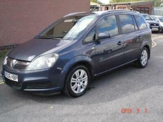 Vauxhall/Opel Zafira 2006 ONLY 56000 MILES, 6 SERVICES