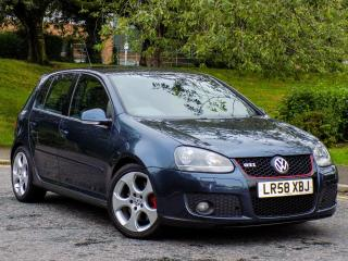 VOLKSWAGEN GOLF GTI 2.0 TFSI 2008.5MY 5DR WITH+FSH+LEATHER+CRUISE+PDC+2 OWNERS