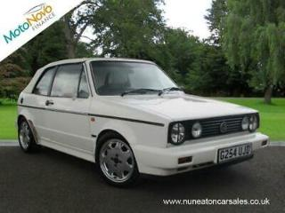 VOLKSWAGEN GOLF GTi White Manual Petrol, 1989