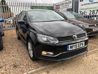 Volkswagen Polo 1.0 SE 3dr 2015 Finance Available