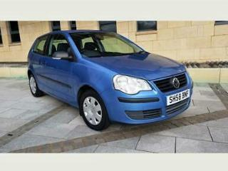 Volkswagen Polo 1.2 60PS 2008MY E, METALLIC BLUE, ONLY 38000 MILES