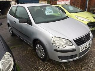 Volkswagen Polo 1.2 E 60PS 2007 78K Miles Superb Condition Throughout