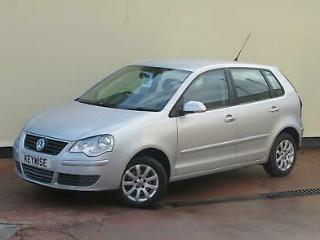 VOLKSWAGEN POLO 1.4 80PS SE 5DR 2009 09 WITH ONLY 38,635 MILES