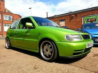 Volkswagen Polo 1.4 Modified Roll Cage Sub & Amps Coil Overs