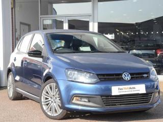 Volkswagen Polo 1.4 TSI ACT BlueGT 5dr Hatchback 2017, 38490 miles, £10900