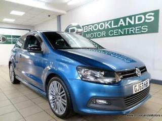 Volkswagen Polo BLUEGT DSG Auto [5X SERVICES, LEATHER and ?20 ROAD TAX]