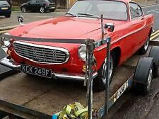 Volvo P1800 Coupe in bright red