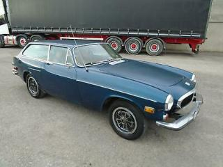 VOLVO P1800ES MANUAL COUPE LHD 1973 FACTORY BLUE! 96% RUST FREE! EXC INVESTMENT!
