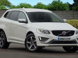 63 Volvo XC60 2.4 D5 215bhp AWD Nav Geartronic R Design Lux Auto FVSH PX Welco