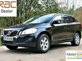 VOLVO XC60 D5 205 AWD S Black Manual Diesel, 2009