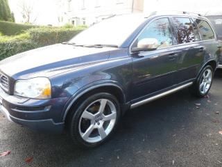 Volvo XC90 2.4 D5 R Design AWD. Late 2011, Low miles, Excellent condition