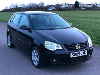 VW POLO 1.2 60ps 2009MY MATCH 5dr 58.9 MPG MOT MARCH 2020