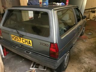 vw polo breadvan one owner from new spares or repair