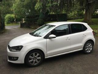 VW Polo Match 1.4 Petrol automatic 5DR 2012 43k miles