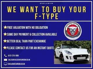 We Want To Buy Your JAGUAR F TYPE