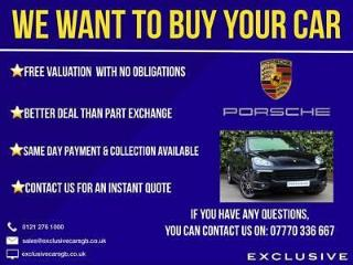 We Want To Buy Your Porsche Cayenne Cayenne S, GTS, Turbo, Hybrid
