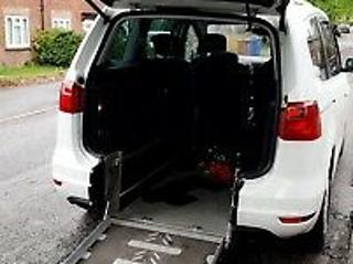 wheelchair access seat alhambra