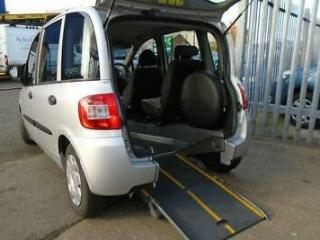 Wheelchair Accessible Brotherwood Upfront Fiat Multipla 1.9 Multijet Dynamic