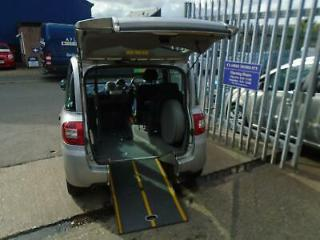 Wheelchair Accessible Fiat Multipla upfront by Brotherwood