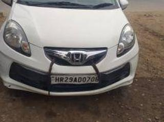 White 2012 Honda Brio S MT 49000 kms driven in Ballabhgarh