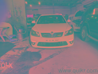 White 2012 Skoda Laura RS 110000 kms driven in Btm Layout