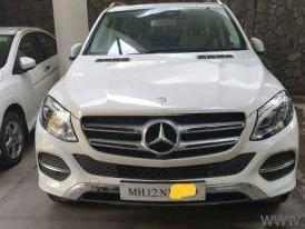 White 2016 Mercedes Benz GLE Class 350 d 4MATIC 8000 kms driven in Dadar East