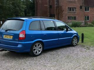 Zafira gsi Arden blue, fully loaded!